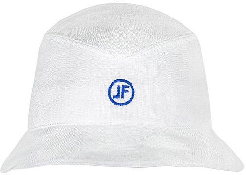 Панама, ткань лён, цвет белый 253-5LF