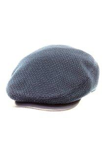 Кепка shelton, трикотаж(шерсть), цвет синий