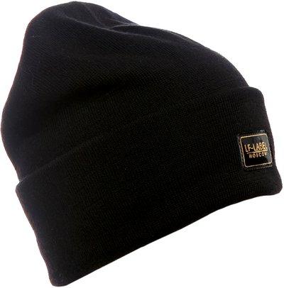 Шапка трикотаж, цвет черный 20104