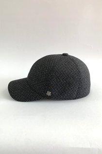 Бейсболка, classic, ткань (Италия), цвет серый