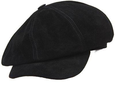 Картуз LF, замша, цвет черный 3111