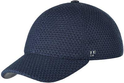 Бейсболка classic, трикотаж, шерсть, цвет синий 074-3