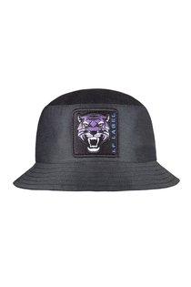 Панама LF-Label Tiger, хлопок, цвет чёрный