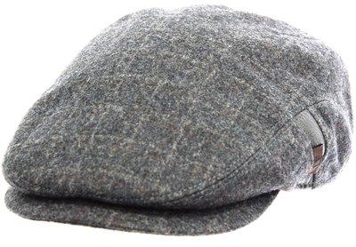 Кепка LF REG, ткань (шерсть), цвет серый, клетка 081-33