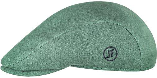 Кепка реглан, ткань лён, цвет зелёный 133-6