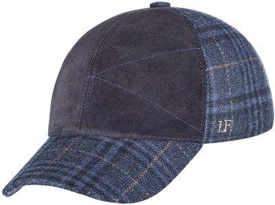 Бейсболка LF Cap Color, замша, ткань (шерсть), цвет синий 0306-25