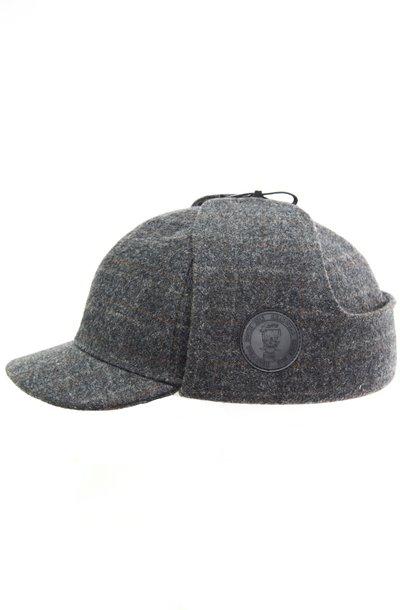 Шерлок, ткань, цвет серый, клетка 301-33
