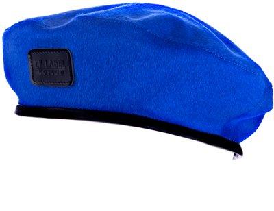 Берет LF MOSCOW, драп, цвет синий 74-56-5