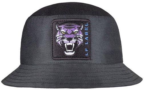 Панама LF-Label Tiger, хлопок, цвет чёрный 899901