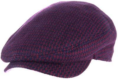 Кепка, ткань (шерсть), цвет красный 011-66