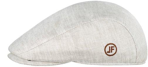 Кепка реглан, ткань лён, цвет бежевый 133-3