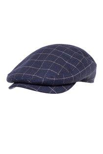 Кепка, ткань (шерсть), цвет тёмно-синий