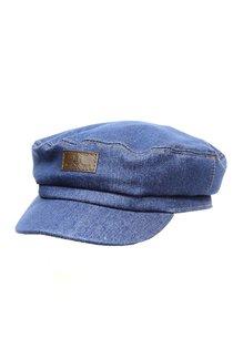 Капитанка NAV, ткань джинсовая, цвет синий