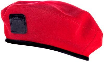 Берет DIAMOND, драп, цвет красный 74-10-5