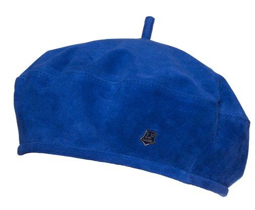 Берет LF LADY, замша, цвет синий 74056
