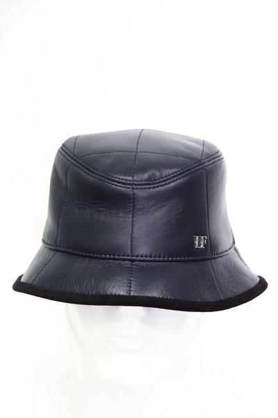 Панама LF, кожа, цвет синий 2505