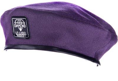 Берет DIAMOND, драп, цвет фиолетовый 74-21-5