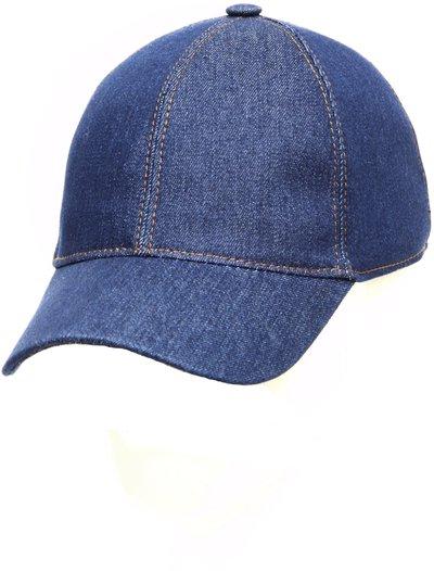 Бейсболка classic, ткань джинсовая, цвет синий 073-1