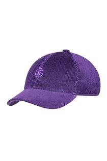 Бейсболка LF, вельвет, цвет фиолетовый