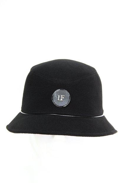 Панама LF-LABEL, ткань, цвет черный 261-9