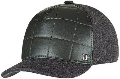 Бейсболка LF Cap color, замша, ткань (шерсть), цвет зелёный 022S011-24