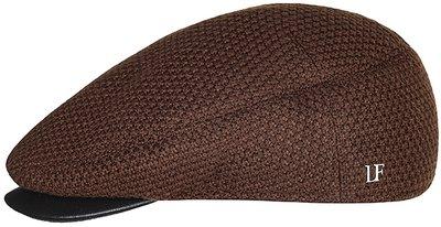 Кепка shelton, трикотаж(шерсть), цвет коричневый 0114-2