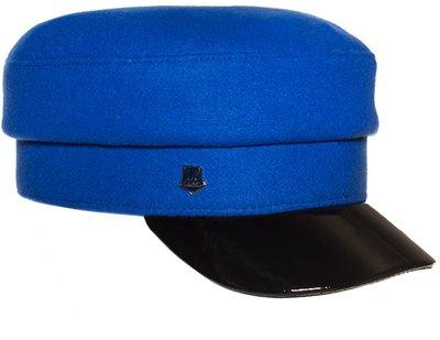Картуз LF LADY, ткань пальтовая, цвет ярко-синий 71-231-56