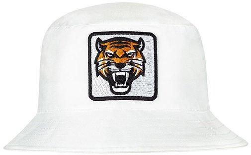 Панама LF-Label Tiger, хлопок, цвет белый 895501
