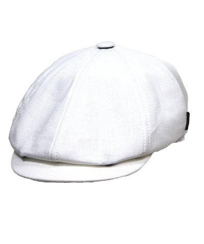 Кепка LF Charlie, лен 100%, цвет белый 043-5
