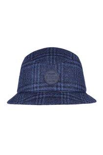 Панама, ткань (шерсть), цвет синий