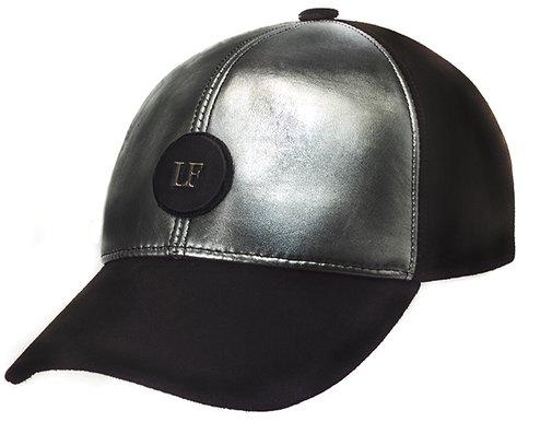 Бейсболка LF Cap Color, замша, кожа 0701-16