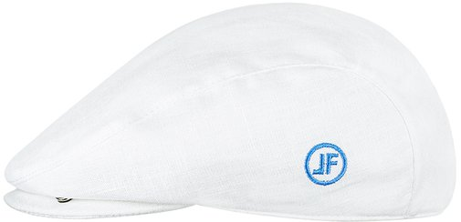 Кепка реглан, ткань лён, цвет белый 133-5
