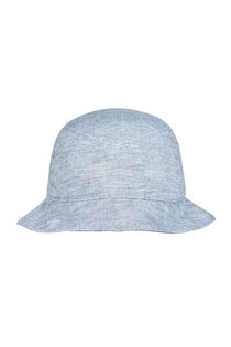 Панама LF-Label, лен 100%, цвет голубой