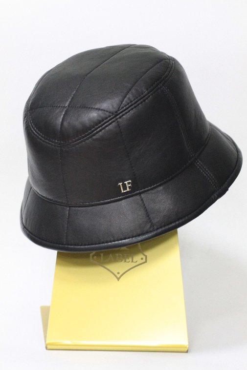 Панама LF, кожа, цвет черный 2502