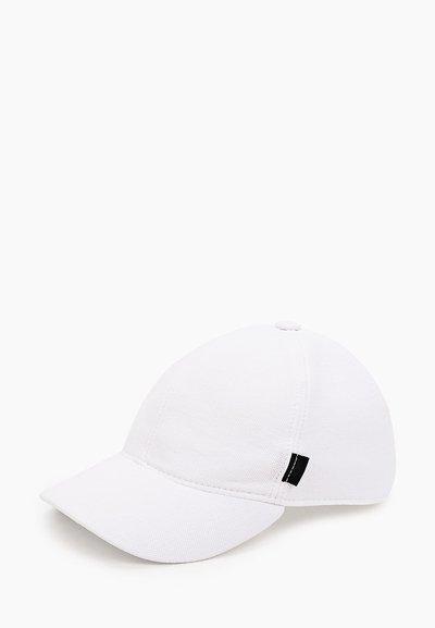 Бейсболка, тань пике(хлопок), цвет белый 076-5