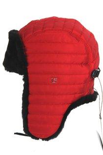 Ушанка LF-Rocky, искусственный мех, ткань плащевая, цвет красный