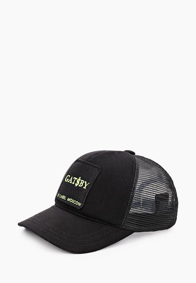 Бейсболка LF trucker Gatsby neon, хлопок, цвет черный 759999