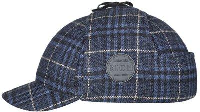 Шерлок, ткань, цвет синий, клетка 301-25