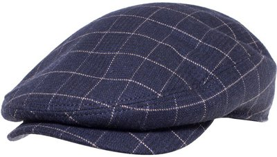 Кепка, ткань (шерсть), цвет тёмно-синий 011-31L