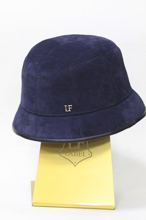 Панама LF, замша, цвет синий 2506