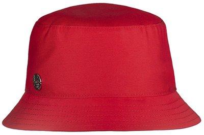 Панама LF-Label, хлопок, цвет красный 89107