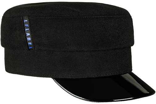 Картуз LF LADY, ткань пальтовая, цвет черный 70-9-17