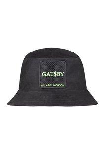 Панама Gatsby(зеленый), ткань хлопок, цвет черный