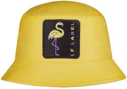 Панама LF-Label LADY Flamingo, хлопок, цвет желтый 894911