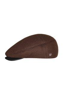 Кепка shelton, трикотаж(шерсть), цвет коричневый