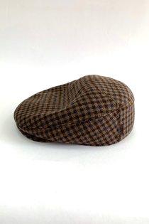 Кепка реглан, ткань (Италия), цвет коричневый
