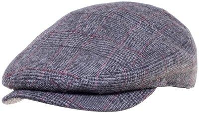 Кепка, ткань (шерсть), цвет серый 011-65