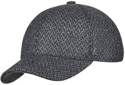 Бейсболка, classic, ткань (Италия), цвет серый 071-98