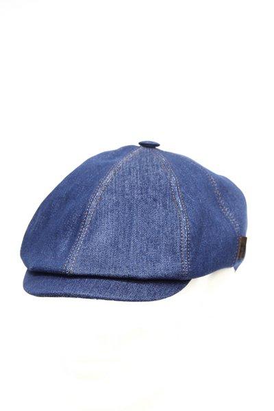 Кепка LF Charlie, ткань джинсовая, цвет синий 043-1