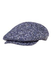 Кепка, ткань (шерсть), цвет серый